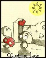 Mushrom Love of Marios World by Chaosty