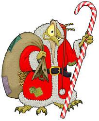 Santa Louse by MisterBug