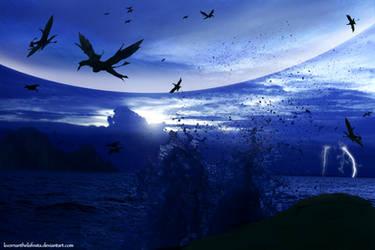AVATAR: Seas of Pandora's dusk by KvornanTheLafesta