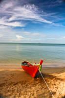 Serenity -  Little Red Boat by KvornanTheLafesta