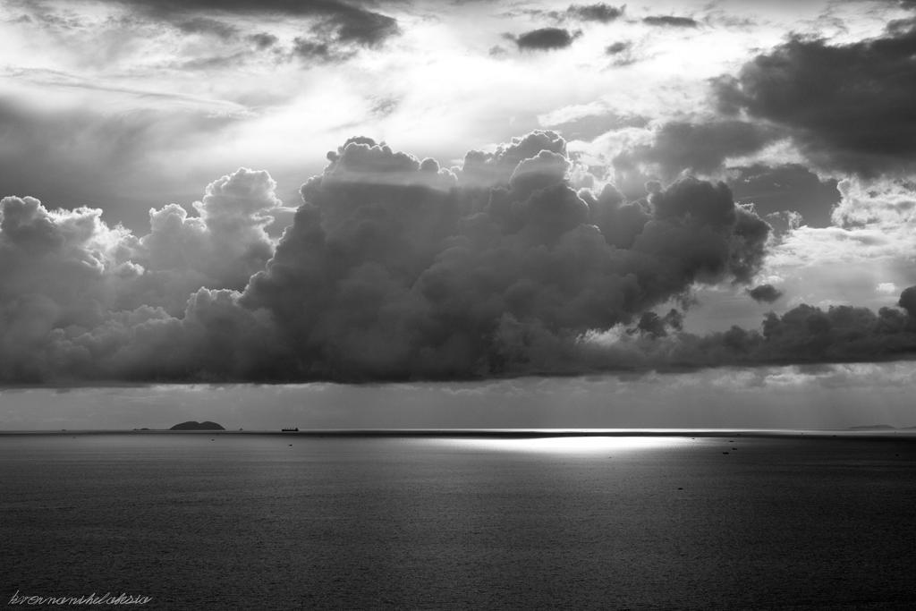 Stormclouds over Gulf by KvornanTheLafesta