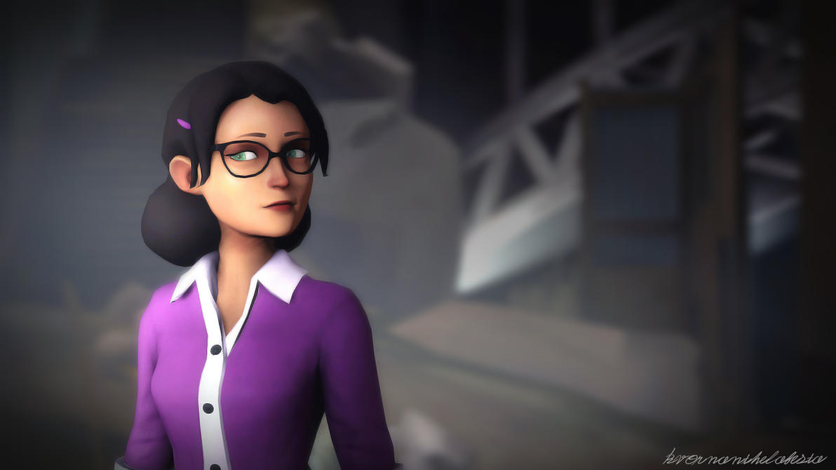 SFM Miss Pauling at Night by KvornanTheLafesta