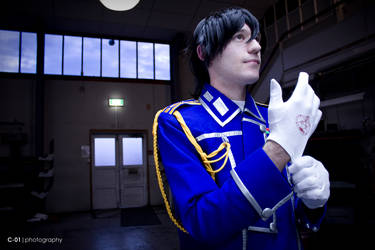 Roy Mustang by Icaruskun