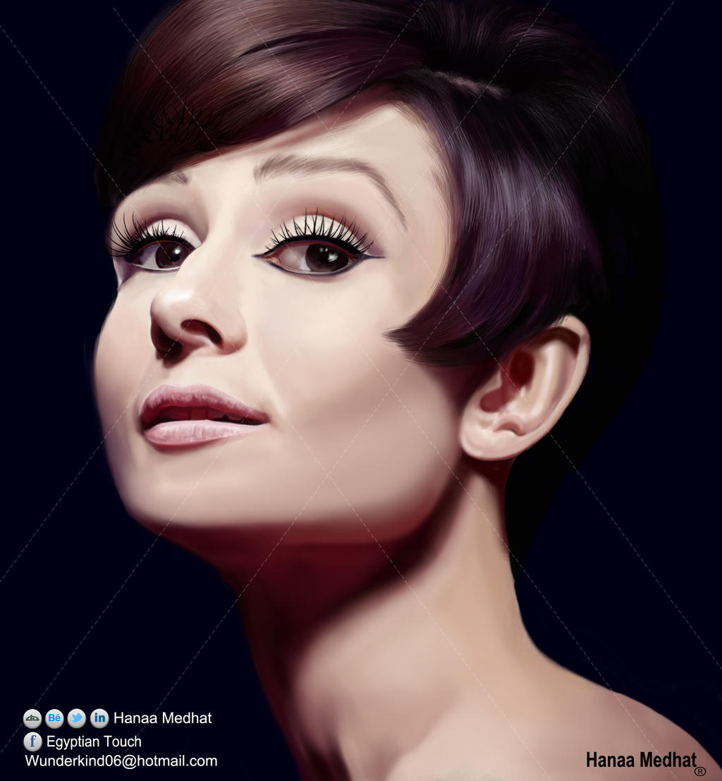 Audrey Hupbrun 's portrait by HMart