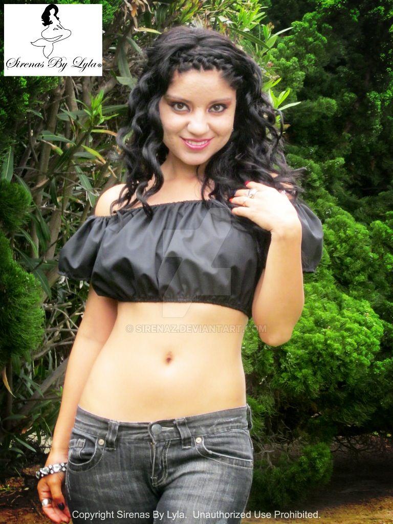 efbf3f29d8a51 Bella Nera Short Sleeve Peasant Crop Top 3 by sirenaz on DeviantArt