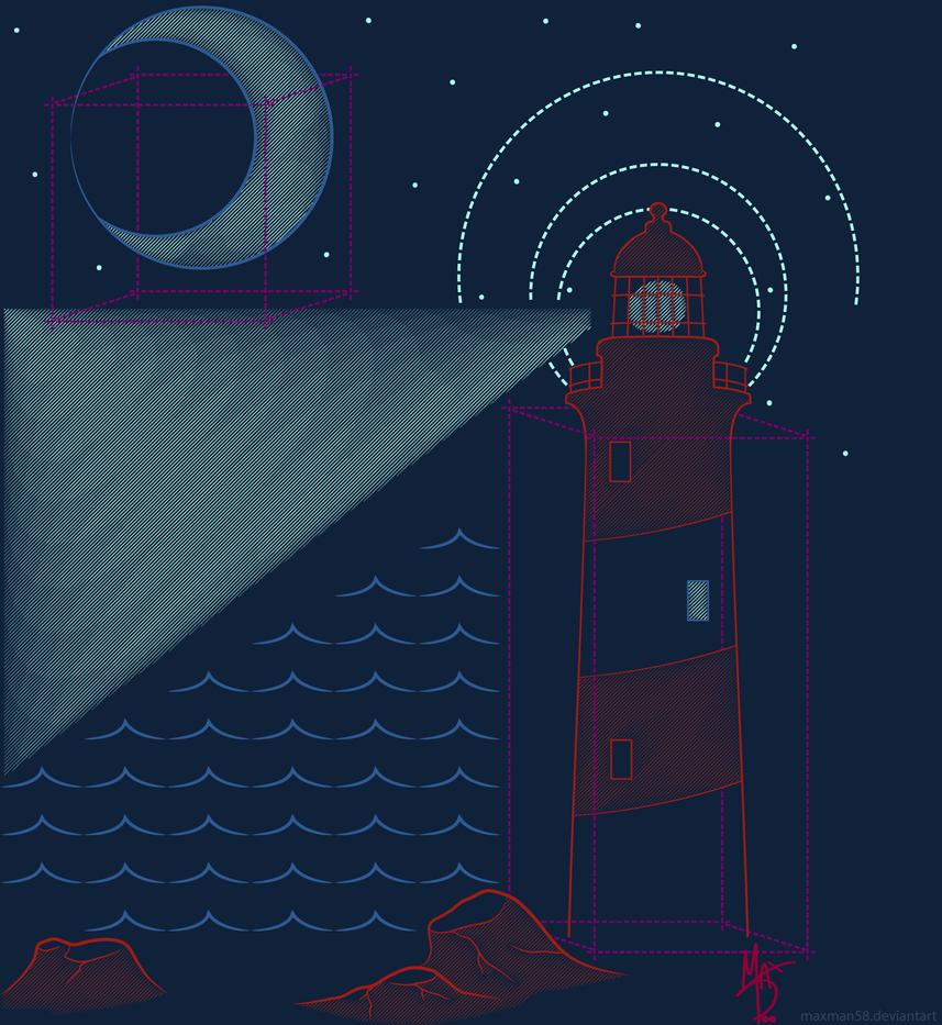 Night Sky Geometry by maxman58