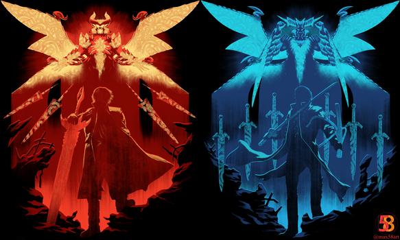 Red Hunter Blue King