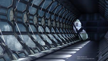 Sky Tunnel by dallasrobinson