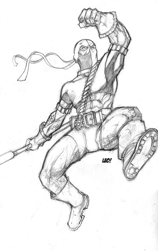 Deathstroke sketchbook...