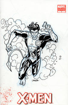 Blank cover commission : Nightcrawler