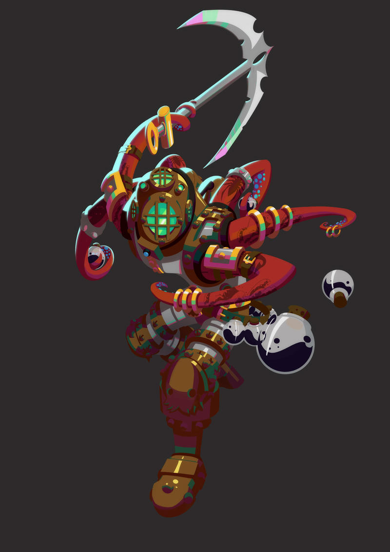 Okto : Evolution 3 by SpideyCreed