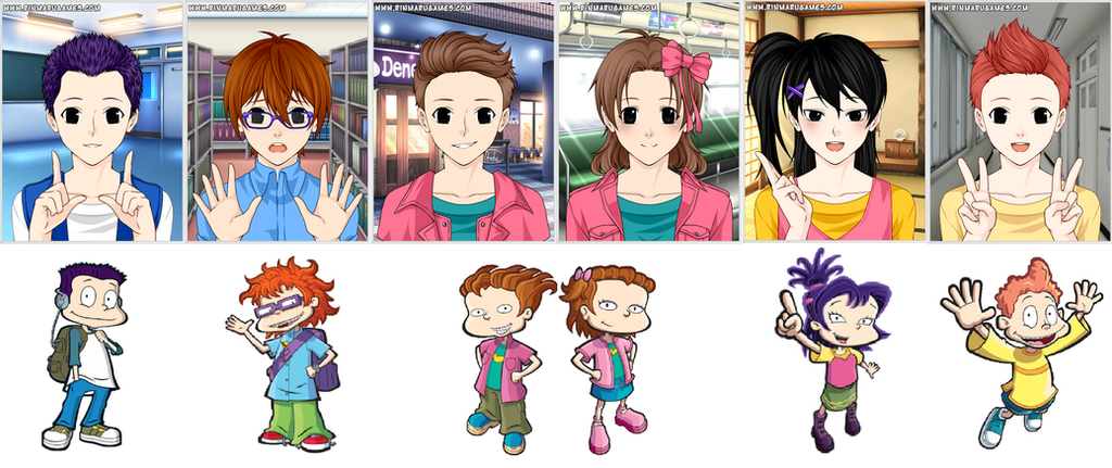 Rugrats All Grown Up in Rinmarugames by Nathy-Chan19 on ...