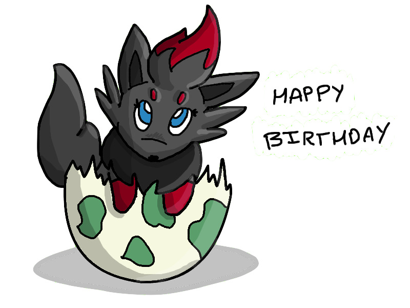 Happy birthday :) by Bubble-the-Wartortle
