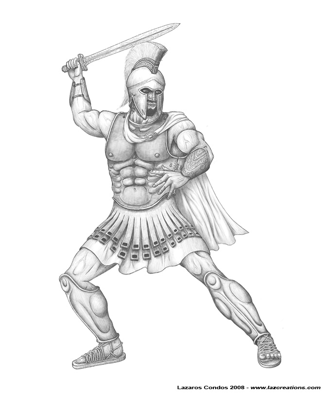 Cool Spartan Drawing Images amp Pictures Becuo