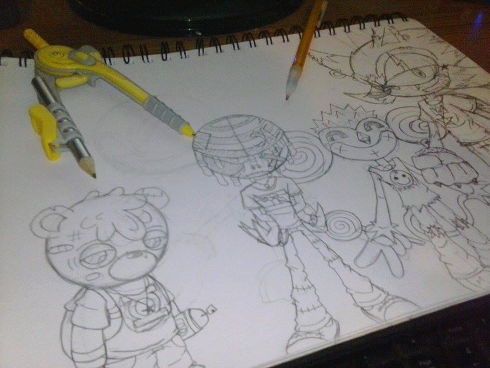 Sketched Out by RageTheHedgehog