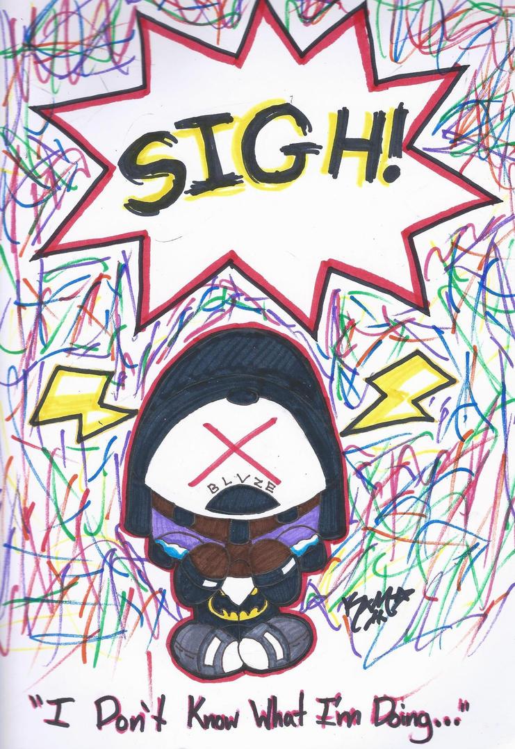 SIGH! by RageTheHedgehog