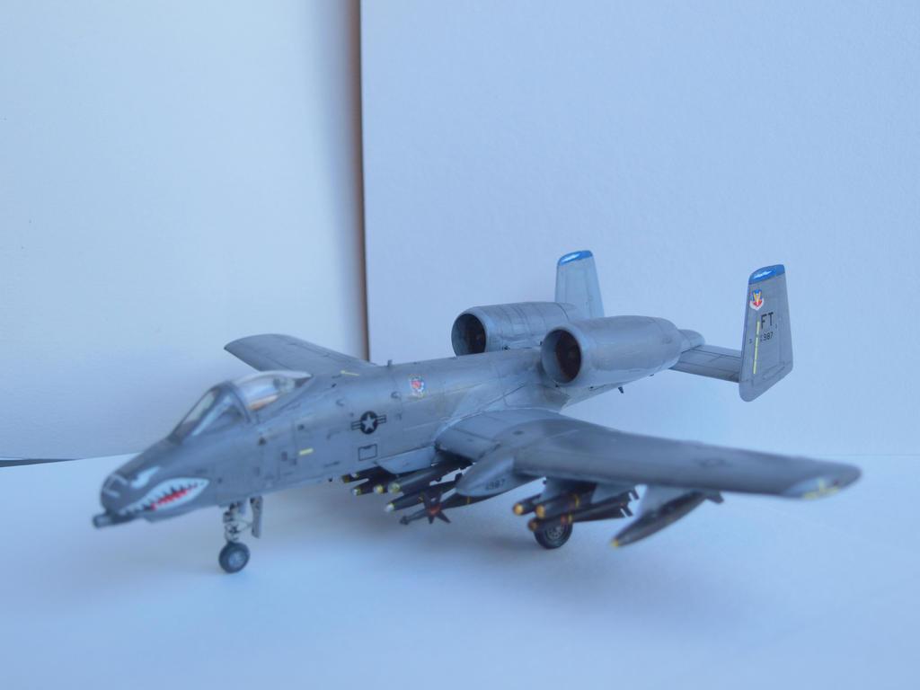 A-10 A Thunderbolt II Warthog by rihosk