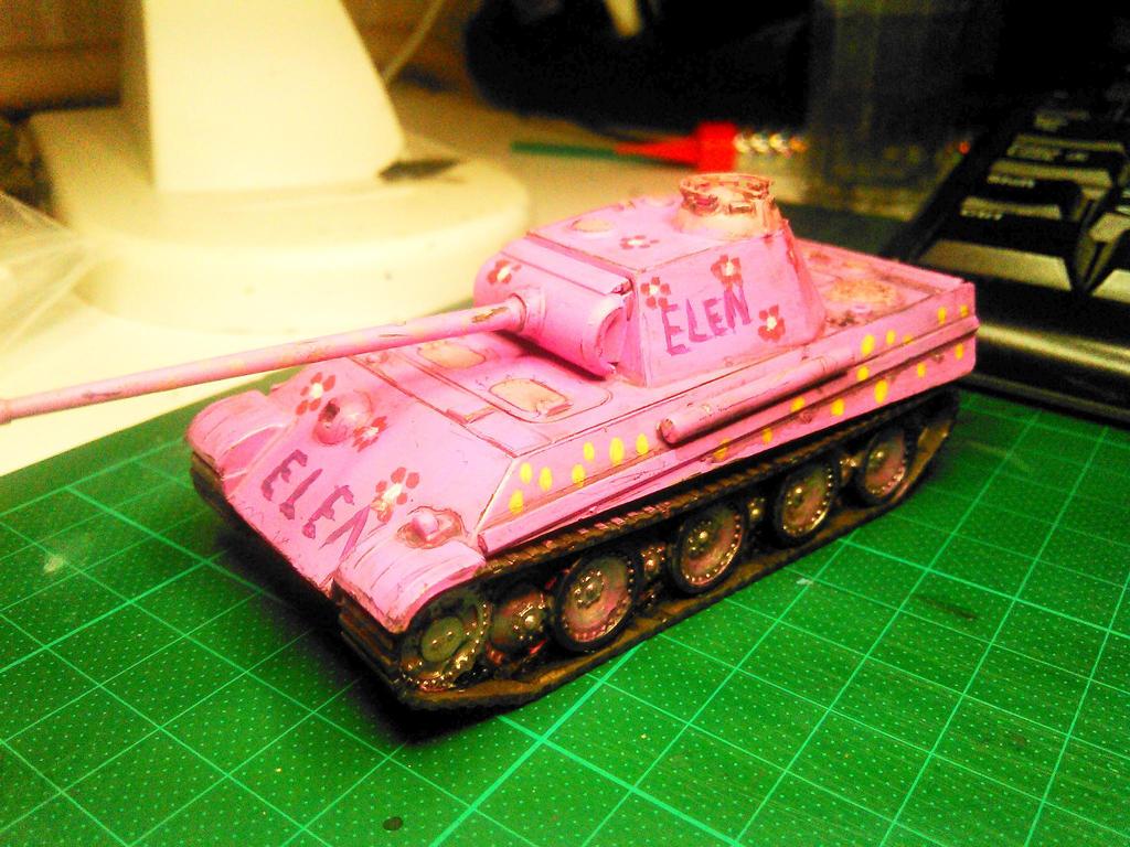 Pink Panther 1:72 by rihosk