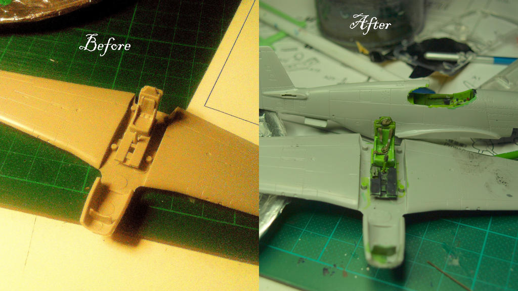 P-51C Mustang wip stage 1 by rihosk