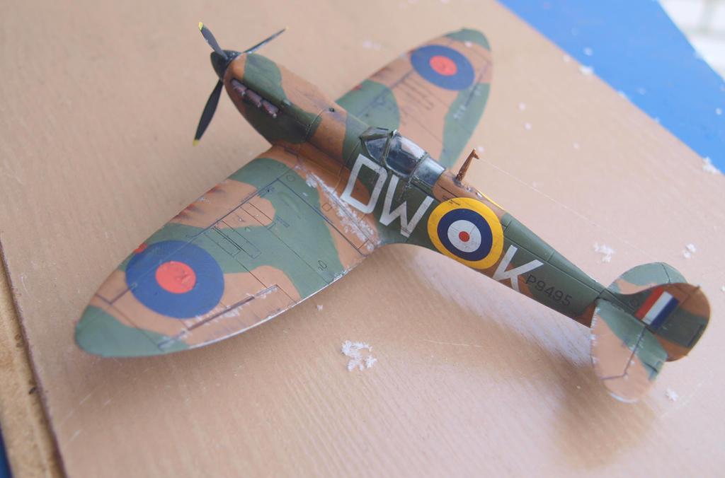 Supermarine Spitfire Mk Ia by rihosk