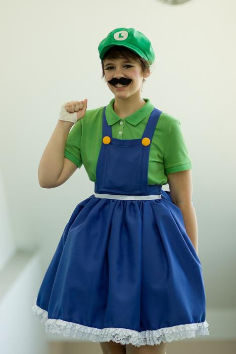 It's-a me, Luigi! by Heiwagotssunglasses