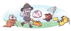 Catch That Pikachu! by CoffeeVulture