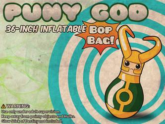 Loki Puny God Bop Bag by rycz