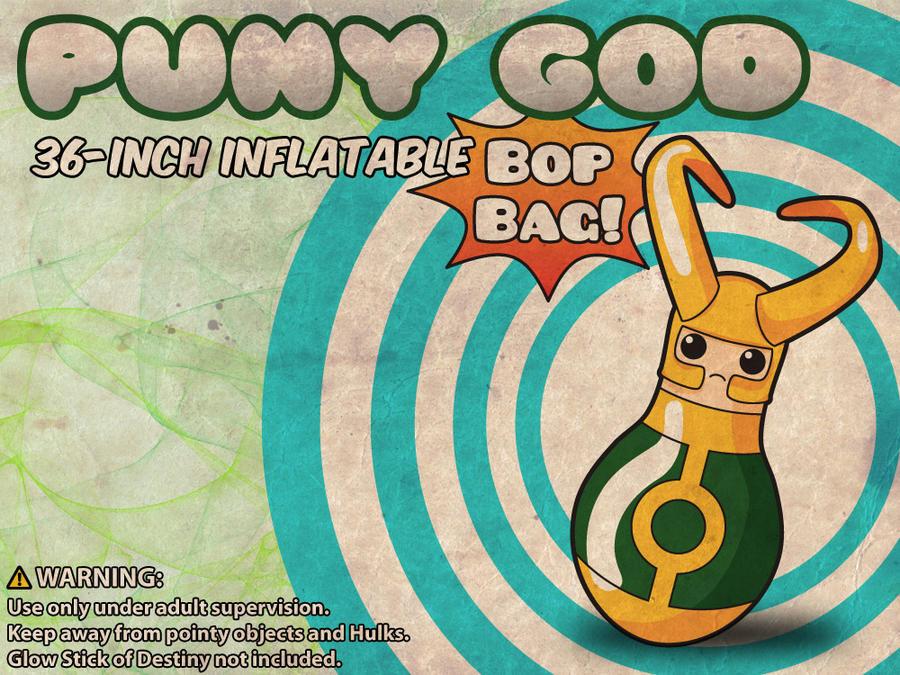 Loki Puny God Bop Bag