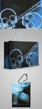 Muerte Apparel Shopping Bag and Label