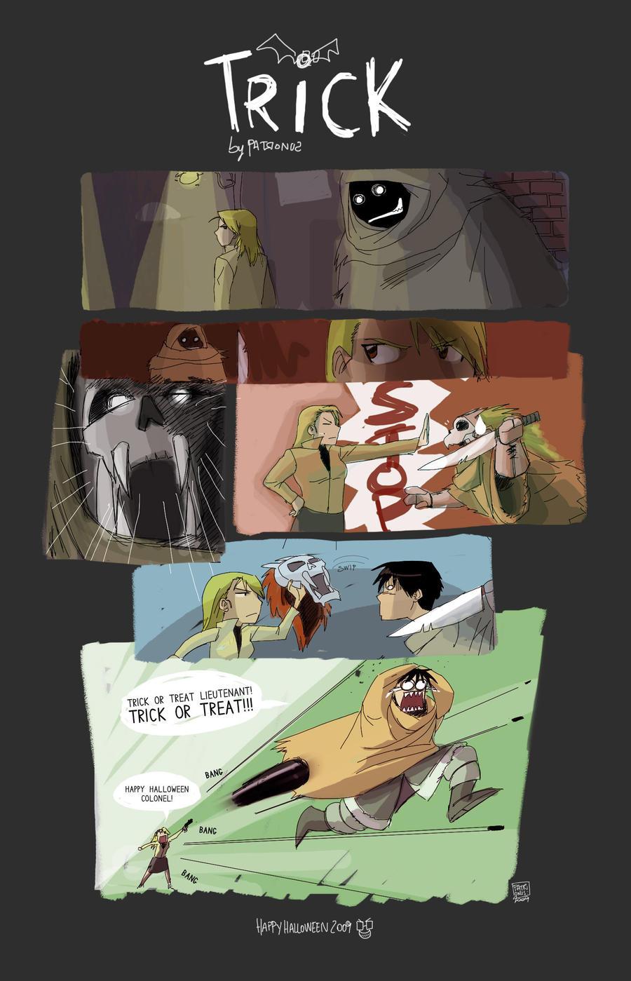 Trick - Halloween 2009 by patronustrip