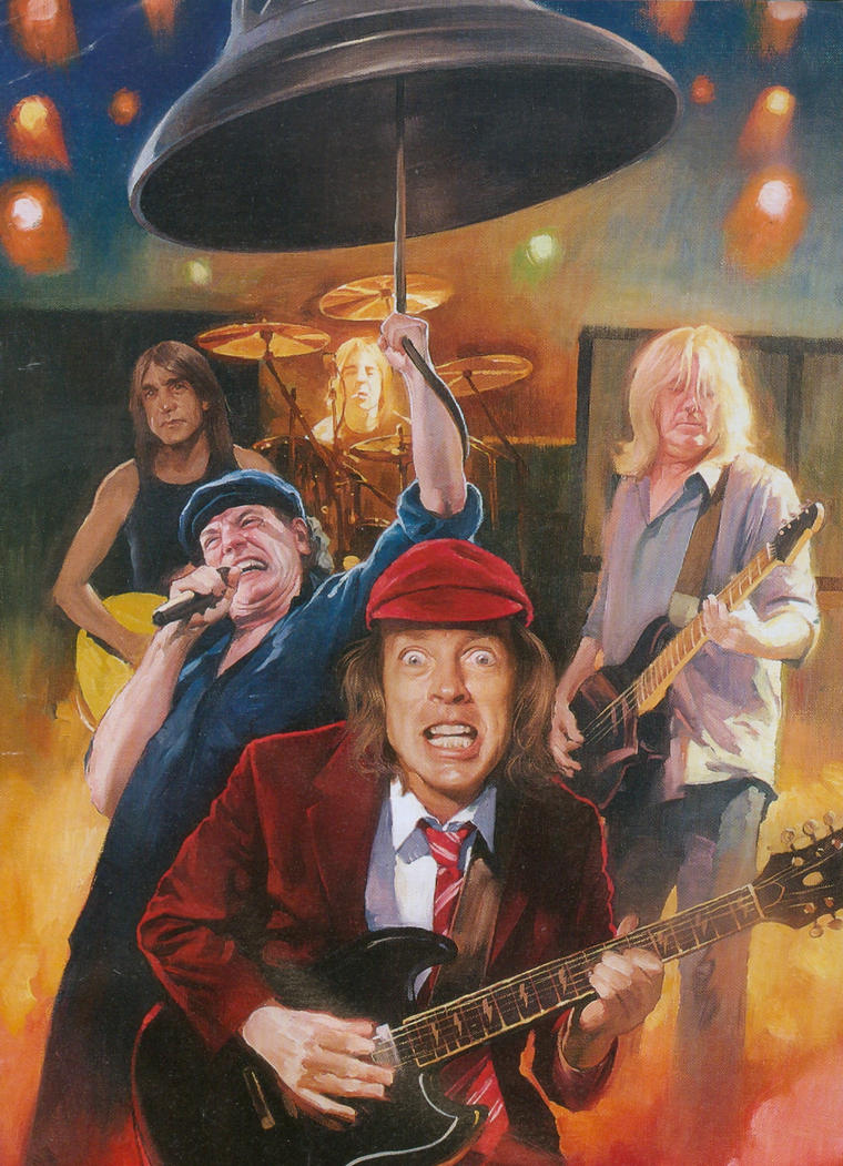 AC DC Rock n Roll Dream by tacosfever