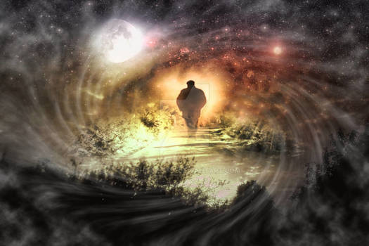 A walk alone in the universe