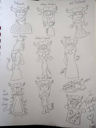 Wedding Dresses by YokoSama