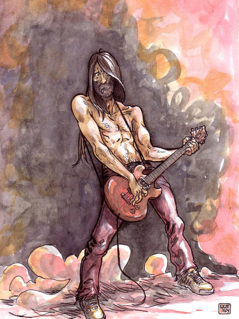 Guitar Hero by Geffroy