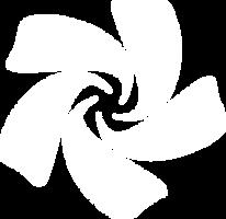 Chakra Logo white by blu32