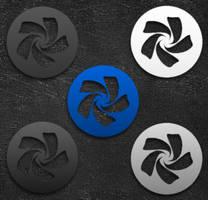 kAwOken Chakra Logos by blu32