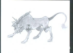 Final Fantasy VII- Red XIII