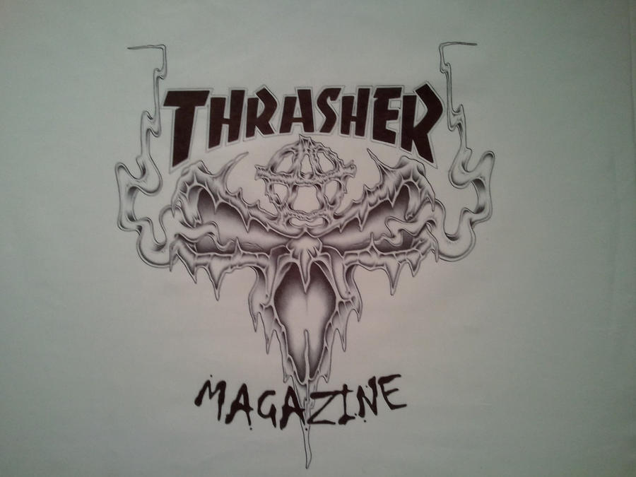 What does thrasher mean definition meaning and