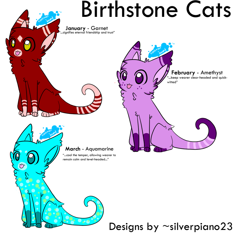 January Birthstone Meaning Birthstone cats [1/4]