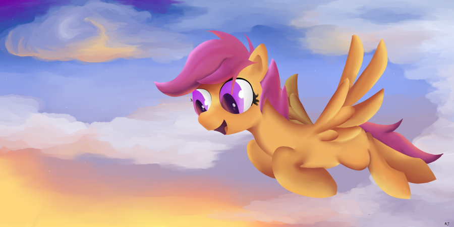 Scootaloo, Scootaloo! by MasterCheefs