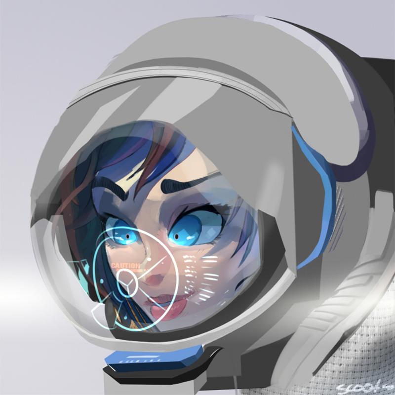 space astronaut by MasterCheefs