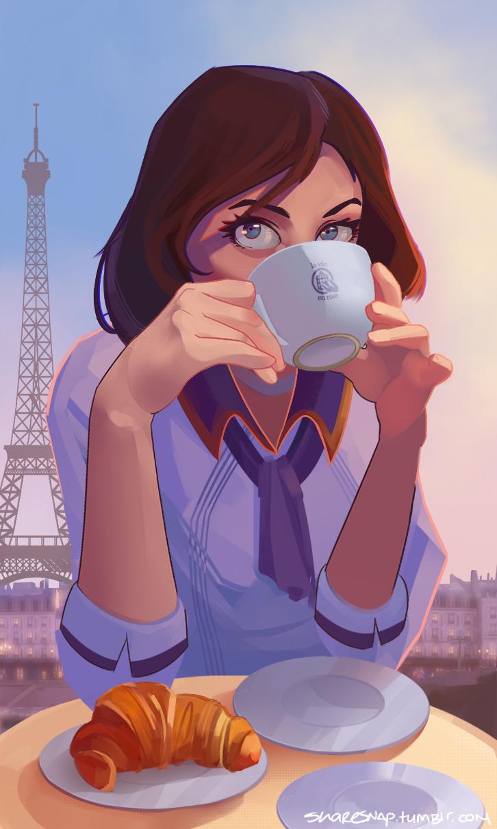 Lets go to Paris, Mr Dewitt! by MasterCheefs