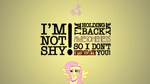 Fluttershy Holds Back Awesomeness