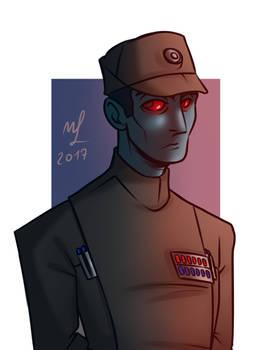 Admiral Thrawn by Jordanoff