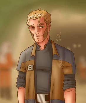 Captain Kallus of the Rebel Alliance by Jordanoff