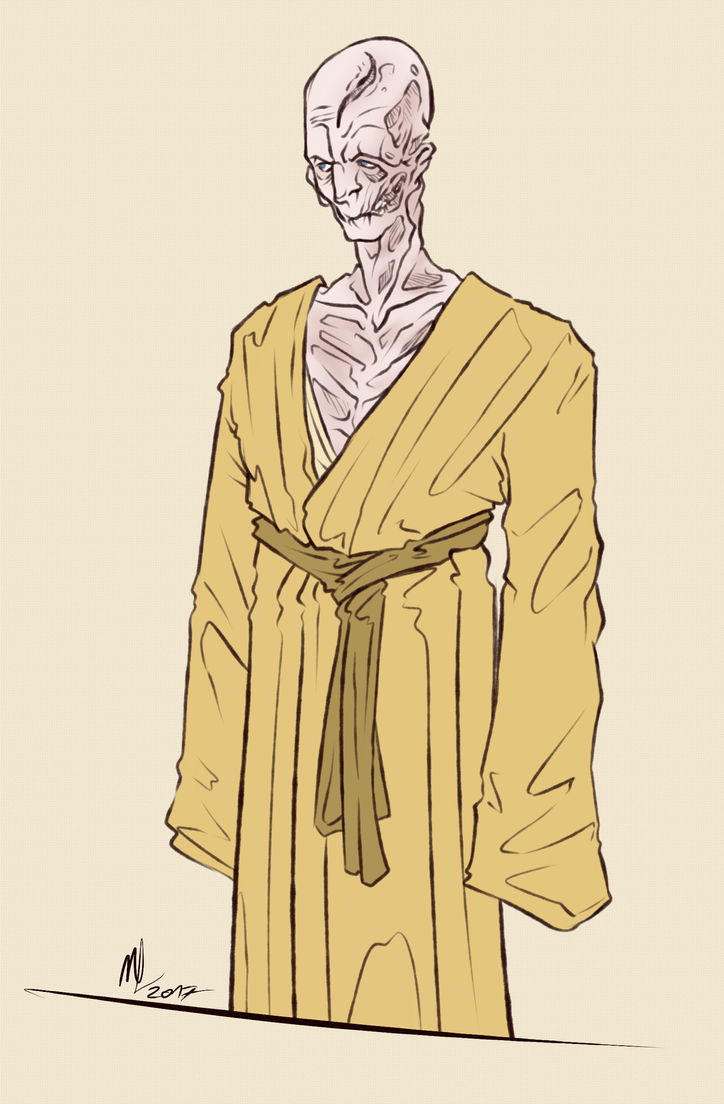 Supreme Leader Snoke By Jordanoff On Deviantart