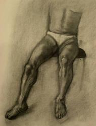 Male Legs by PsychoAnn