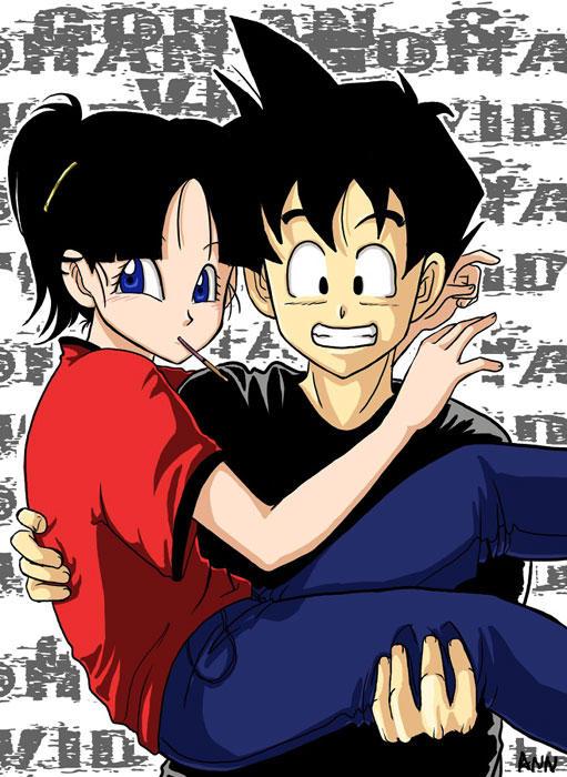 Dragon Ball Z Gohan and Videl Fan Fiction