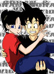 Preteen Gohan and Videl