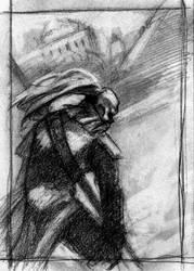 Undead Warriors Sketch 2 by PsychoAnn
